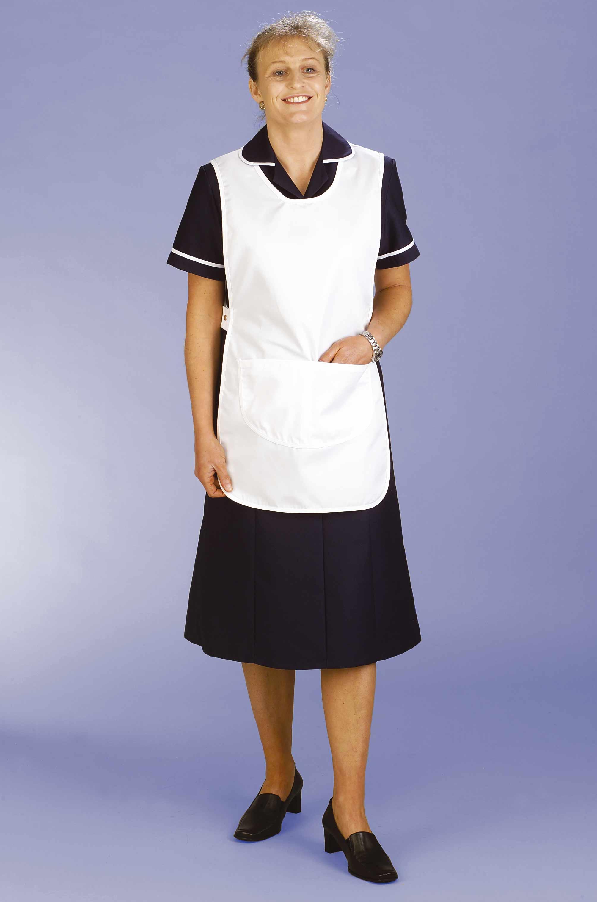 White tabard apron - Ct1 White