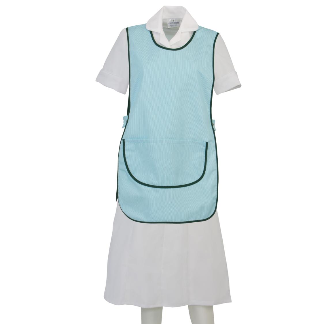 White tabard apron - Ct1 Stripe Tabards