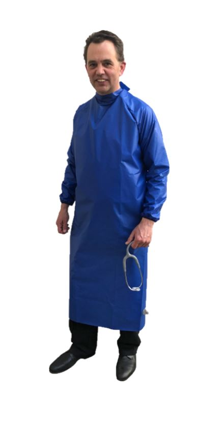 Royal Blue Reusable - Non Washable Waterproof Gown